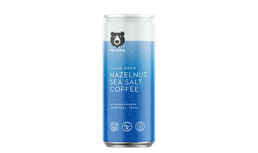 Hazelnut & Sea Salt Flash Brew Coffee- Code#: DR1979