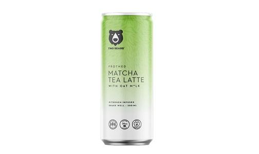 Frothed Matcha Oat Milk Latte- Code#: DR1985