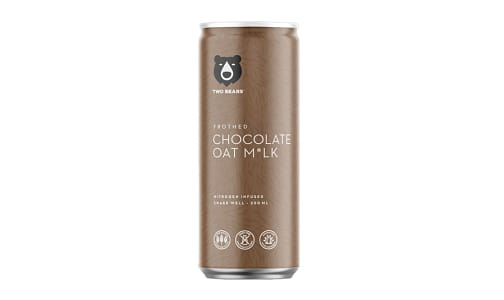 Frothed Chocolate Oat Milk- Code#: DR1987