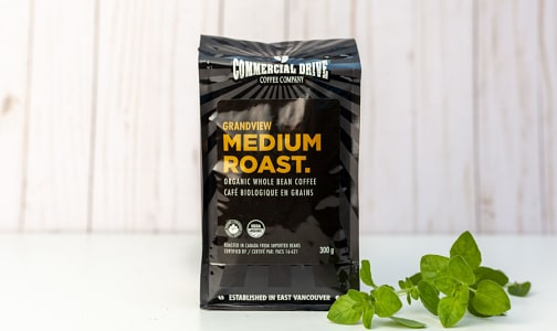 Organic Grandview Medium Roast Coffee- Code#: DR1990