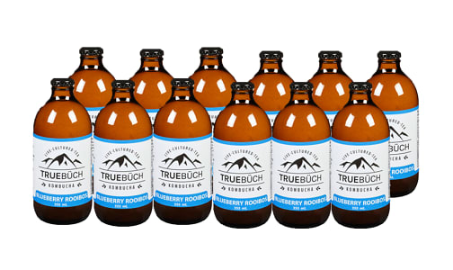 CASE - Blueberry Rooiboos Kombucha- Code#: DR2013