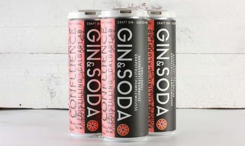 Grapefruit, Raspberry & Chili Gin Soda- Code#: DR2066