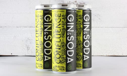 Spruce & Lemon Gin Soda- Code#: DR2067