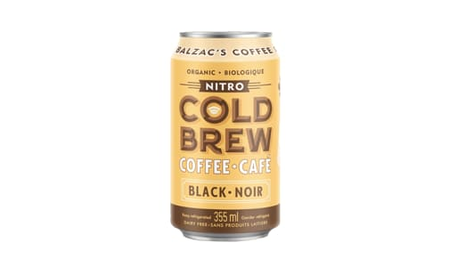 Organic Black Nitro Cold Brew Coffee- Code#: DR2089