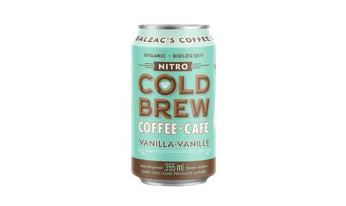 Organic Vanilla Nitro Cold Brew Coffee- Code#: DR2090