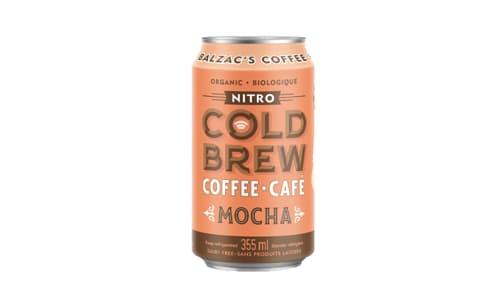 Organic Mocha Nitro Cold Brew Coffee- Code#: DR2091