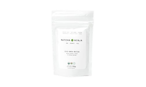 Organic Cold-Brew Matcha- Code#: DR2119