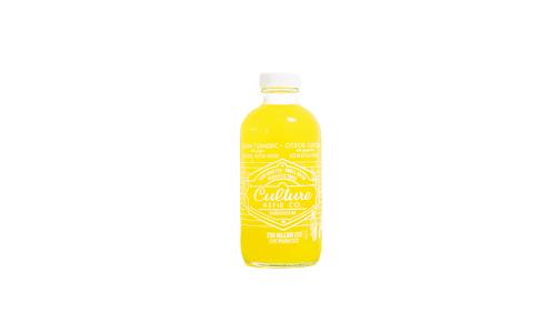 Lemon Turmeric Ginger Kefir Water- Code#: DR2147