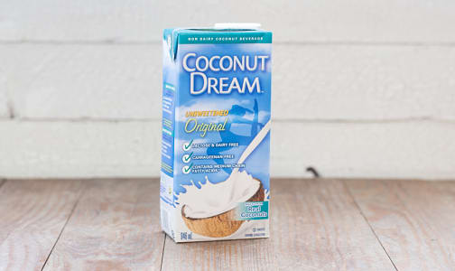 Prebiotic Coconut Beverage, Unsweetened- Code#: DR223
