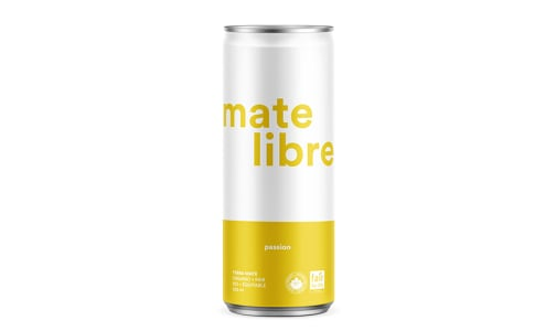 Organic Sparkling Yerba Mate Infusion - Passion- Code#: DR2243