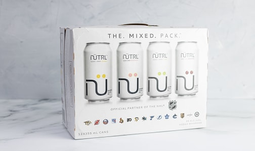 Nutrl - Vodka Soda Mixed Pack- Code#: DR2273