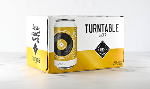 Turntable Lager- Code#: DR2316