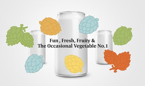 Fun, Fresh, Fruity & The Occassional Vegetable- Code#: DR2325