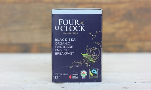 Organic English Breakfast Black Tea- Code#: DR233