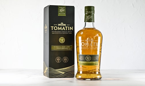 Tomatin - 12 Year Old Scotch- Code#: DR2341