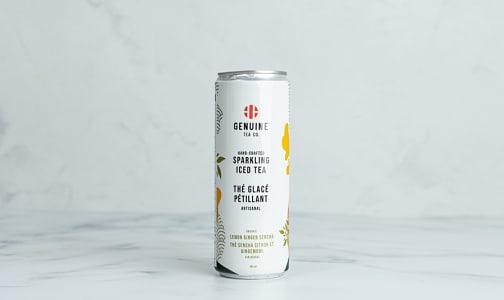Organic Lemon Ginger Sencha Sparkling Iced Tea- Code#: DR2391