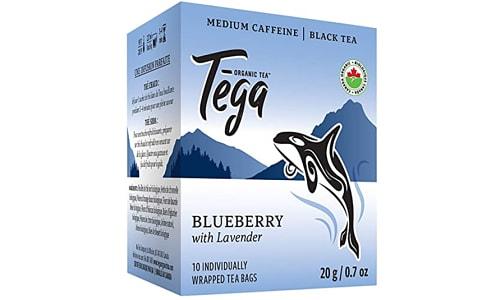 Organic Blueberry Lavender Tea- Code#: DR2405