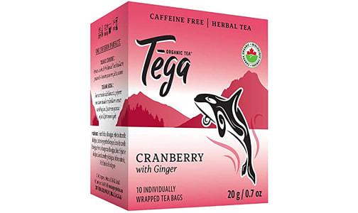 Organic Cranberry Ginger Tea- Code#: DR2406