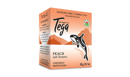 Organic Turmeric Peach Tea- Code#: DR2407