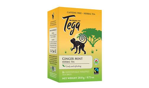 Organic Ginger Mint Tea- Code#: DR2409