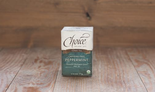 Organic Peppermint Tea- Code#: DR240