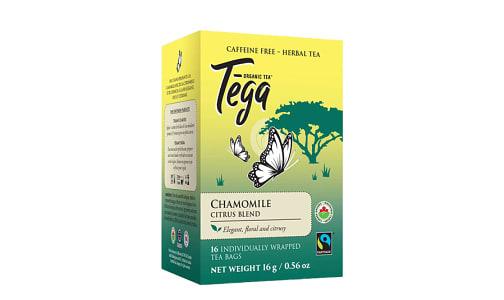 Organic Chamomile Citrus Tea- Code#: DR2413