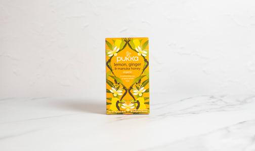 Organic Lemon Ginger & Manuka Honey- Code#: DR2489