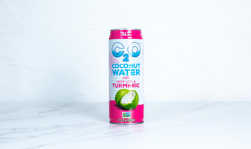 Coconut Water with Ginger, Lime & Turmeric- Code#: DR2495