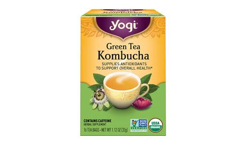 Organic Green Tea with Kombucha- Code#: DR2522