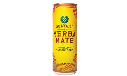 Organic Sparkling Yerba Mate - Classic Gold- Code#: DR2536