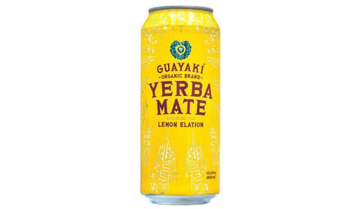 Organic Yerba Mate - Lemon Elation- Code#: DR2539