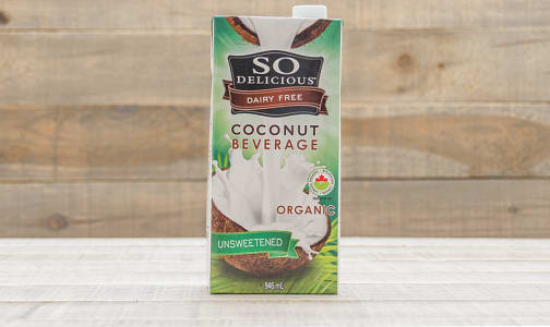 Organic Coconut Beverage - Unsweetened- Code#: DR259