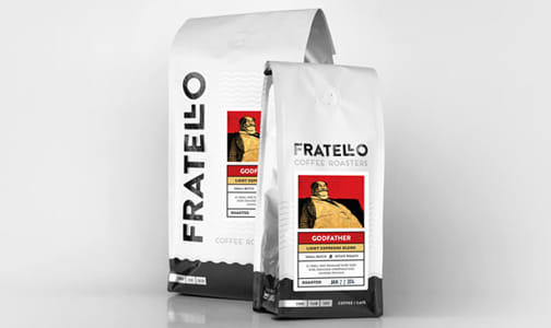 Organic God Father Espresso Coffee, Ground- Code#: DR3000