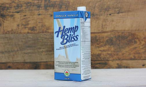 Organic Hemp Bliss Vanilla- Code#: DR3036