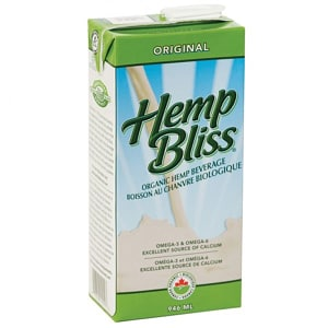 Organic Hemp Bliss Original- Code#: DR3039