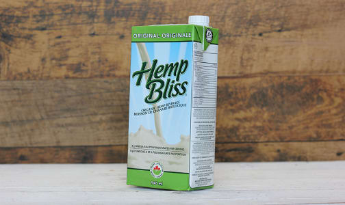Organic Hemp Bliss Original- Code#: DR3039