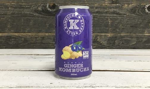 Organic Purple Ginger Kombucha- Code#: DR3146