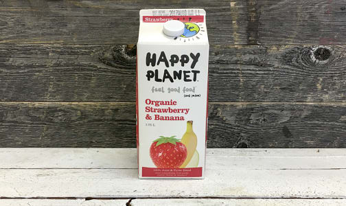 Organic Strawberry Banana Juice- Code#: DR3422