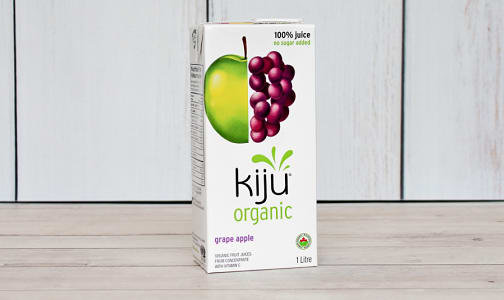Organic Grape 'n Apple Juice- Code#: DR3426