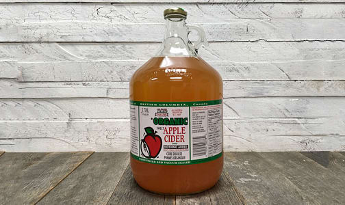 Organic Sweet Apple Cider- Code#: DR3699