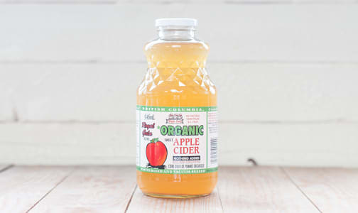 Organic Sweet Apple Cider- Code#: DR370