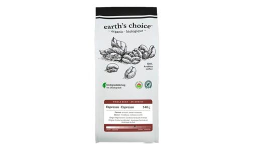 Organic Espresso Coffee, Whole- Code#: DR3835