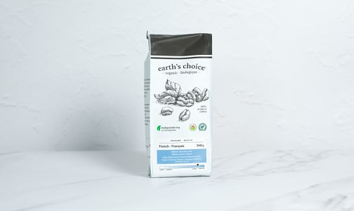 Organic French Coffee, Ground- Code#: DR3841