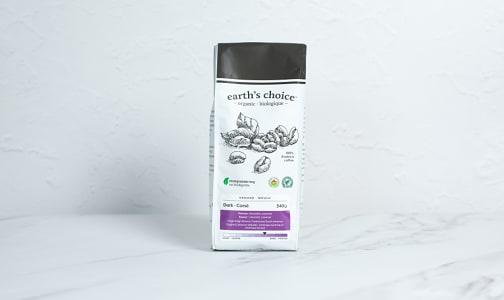 Organic Dark Coffee, Ground- Code#: DR3842