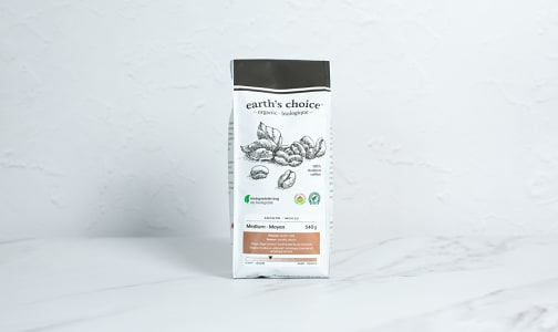 Organic Medium Coffee, Ground- Code#: DR3844