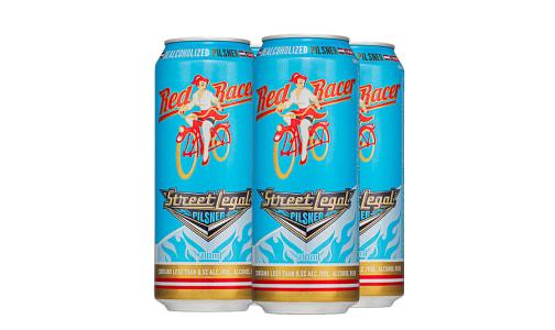 Red Racer Street Legal - Dealcoholized Pilsner- Code#: DR3880