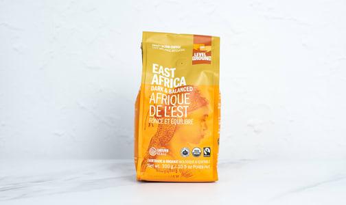 Organic East Africa, Dark & Balanced; Ground- Code#: DR3908