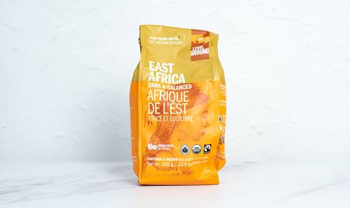 Organic East Africa, Dark & Balanced; Bean- Code#: DR3931