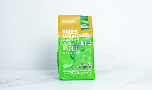Organic Andes Mountains, Medium & Rich; Ground- Code#: DR3936