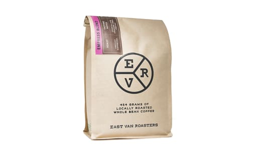 Organic EVR Custom Empress Blend - Whole Bean Espresso- Code#: DR4000